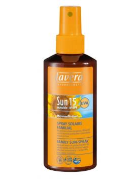 Spray solaire IP15 familial Lavera