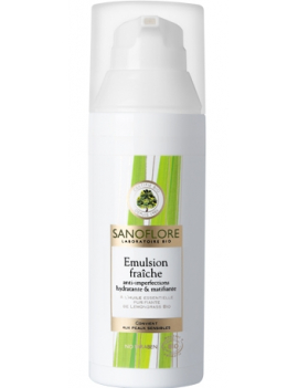 Emulsion fraîche anti-imperfection 50mL Sanoflore