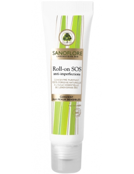 Roll-on SOS anti-imperfection 15mL Sanoflore