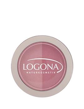 Fard à joues blush duo rose 10g Logona