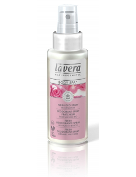 Deo spray rose sauvage Lavera