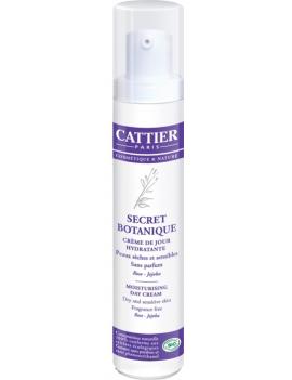 Crème hydratante Secret Botanique peaux sèches et sensibles 50ml Cattier