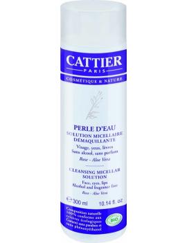 Solution micellaire démaquillante Perle d'Eau 300ml Cattier