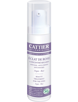 Concentré regard Eclat de Rose 15ml Cattier