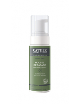 Mousse de rasage Fine Lame 150ml Cattier