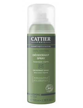 Déodorant spray Safe Control 100ml Cattier