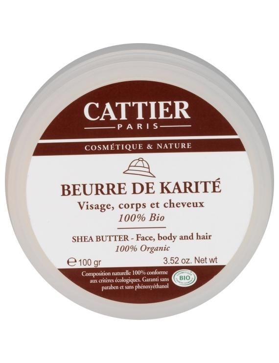 Beurre de Karité 100% BIO 100g Cattier