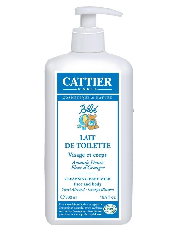 Lait de toilette 500ml Cattier