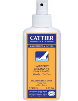 Lait spray délassant 200ml Cattier