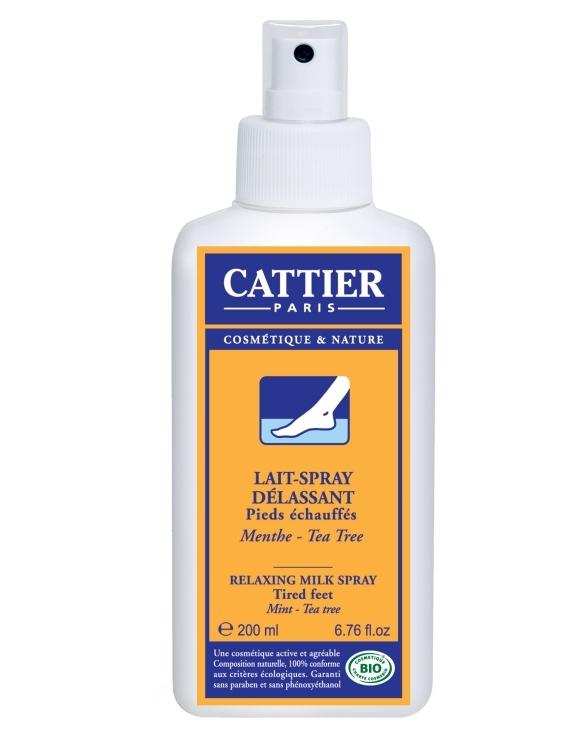 Lait spray délassant 200ml Cattier