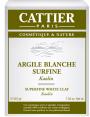 Argile blanche Surfine 200g Cattier