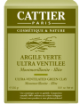 Argile verte ultra ventilée 250g Cattier