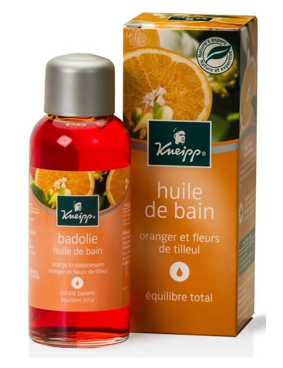Huile de bain Fleurs de Tilleul et Oranger 100ml Kneipp