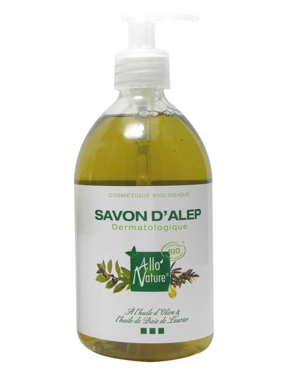 Savon d'Alep liquide bio 300ml Allo'Nature