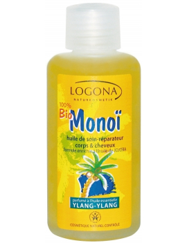 Huile de soin corps et cheveux parfum ylang-ylang 100ml Logona