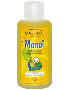 Huile de soin corps et cheveux parfum coco 100ml Logona