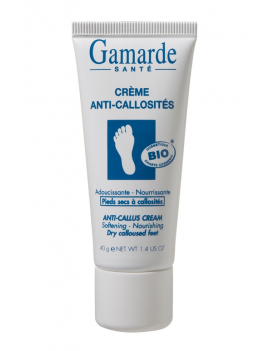 Crème anti-callosités tube 40g Gamarde