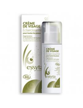 Crème visage éclaircissante 50mL Essyta
