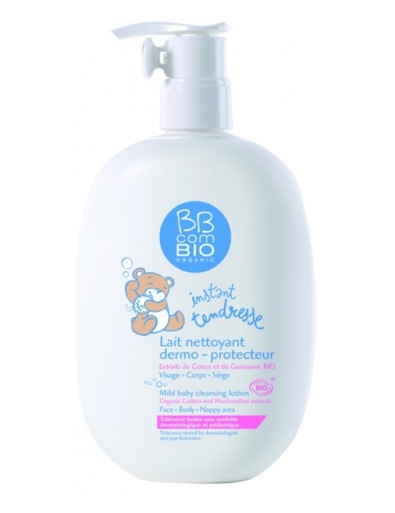 Lait nettoyant dermo protecteur 400ml BB com Bio