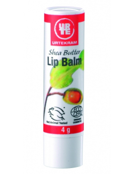 Baume à lèvres au beurre de Karité 4g Urtekram