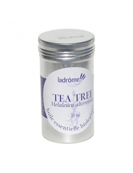 Huile essentielle bio tea tree 10mL Ladrome