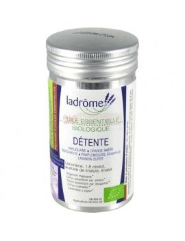 Mélange d'huiles essentielles Détente 10mL Ladrome