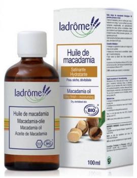 Huile végétale Noix de Macadamia 100ml Ladrome