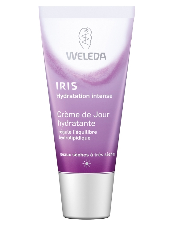 Crème de jour hydratante à l'Iris bio 30mL Weleda