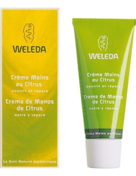 Crème mains au Citrus 50mL Weleda