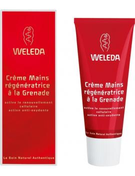 Crème Mains régénératrice à la Grenade 50mL Weleda