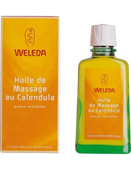 Huile de Massage au Calendula 100mL Weleda