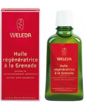 Huile régénératrice à la Grenade 100mL Weleda