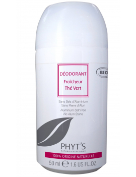 Déodorant roll on bio au Thé Vert 50mL Phyt's