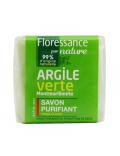 Savon purifiant à l'argile verte Montmorillonite 100g Floressance