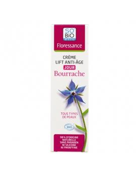 Crème Lift anti-âge jour Bourrache bio 50mL Floressance