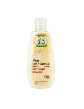 Lait corps soyeux au lait d'ânesse bio 200mL SO'BiO étic
