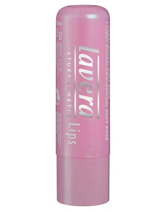 Baume à lèvres Rosé coloré doux Laveral