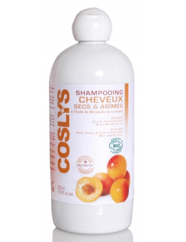 Shampoing cheveux secs et abîmés 500mL Coslys