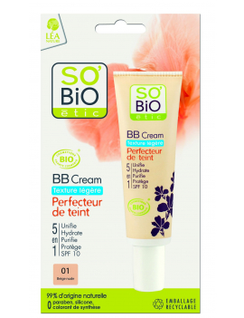 BB cream texture légère beige éclat 30mL SO'BiO étic