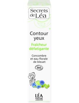 Soin contour yeux Concombre 15mL Secrets de Léa