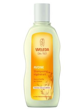 Shampoing régénérant à l'Avoine 190mL Weleda