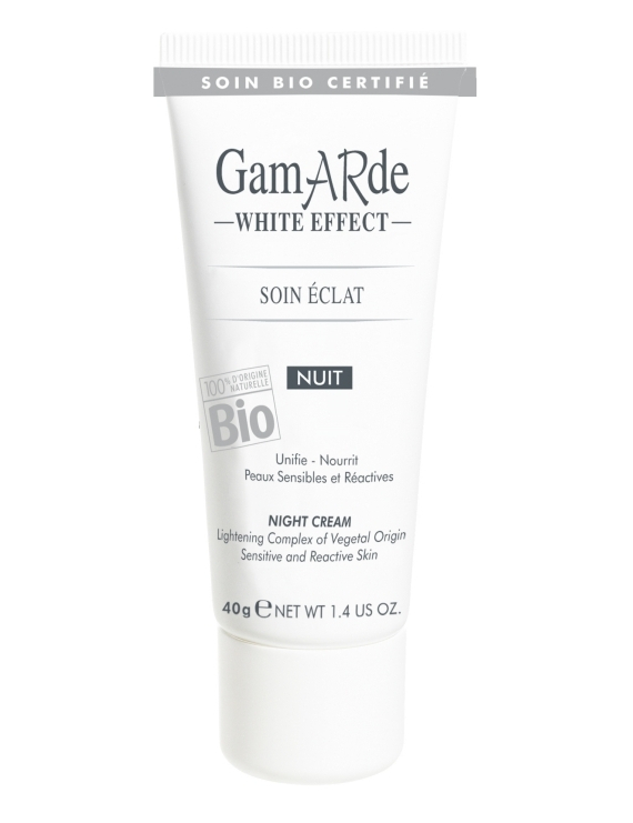 Soin éclat nuit 40g White Effect Gamarde