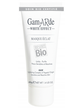 Masque éclat 40g White Effect Gamarde