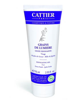 Gelée exfoliante Grains de Lumière 75ml Cattier