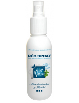 Déodorant spray 125ml Allo'Nature