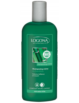 Shampoing crème au bambou 250mL Logona