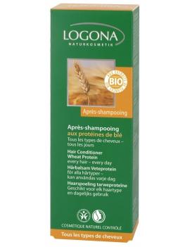 Après-shampoing aux protéines de blé 200ml Logona
