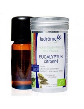 Huile essentielle bio eucalyptus citronné 10mL Ladrome