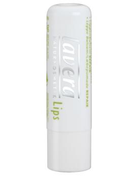 Baume à lèvres réparateur transparent Lavera