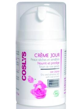 Crème jour peaux sèches et sensibles 50mL Coslys